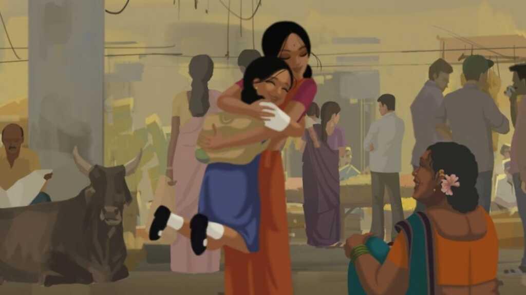 Bombay Rose scena