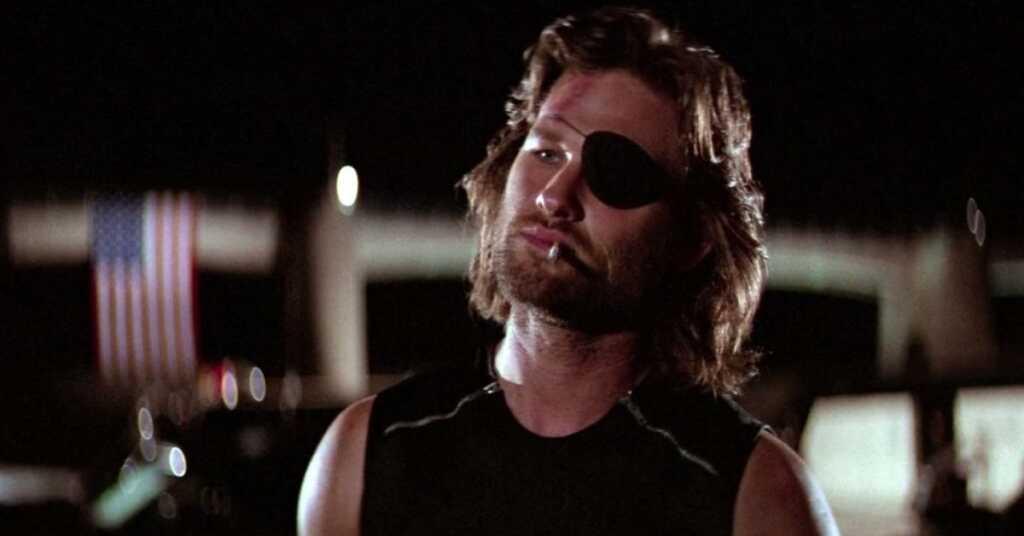 Kurt Russell in 1997 Fuga da New York