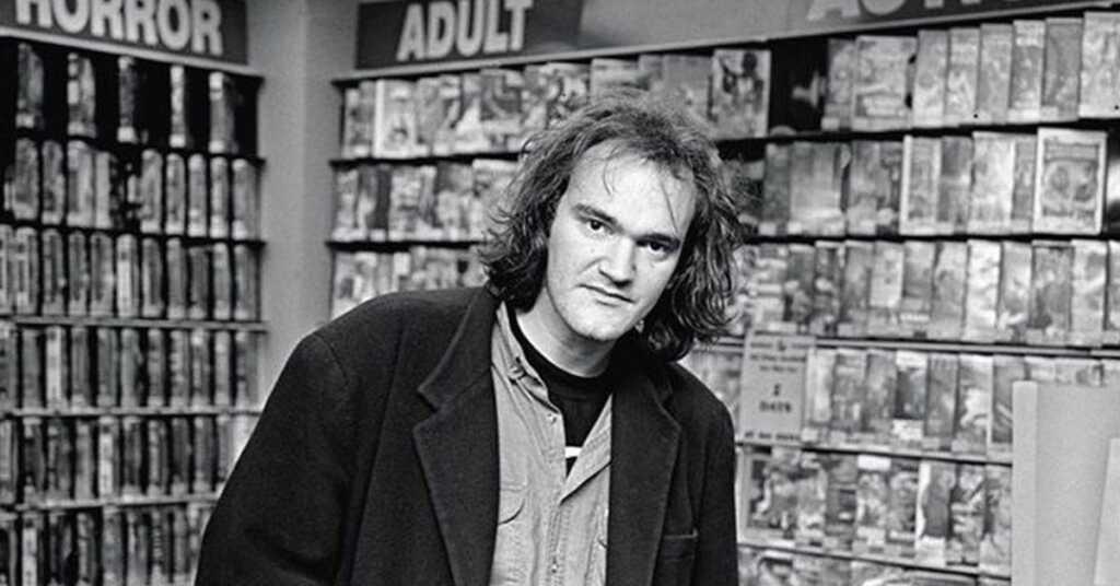 Quentin Tarantino da giovane