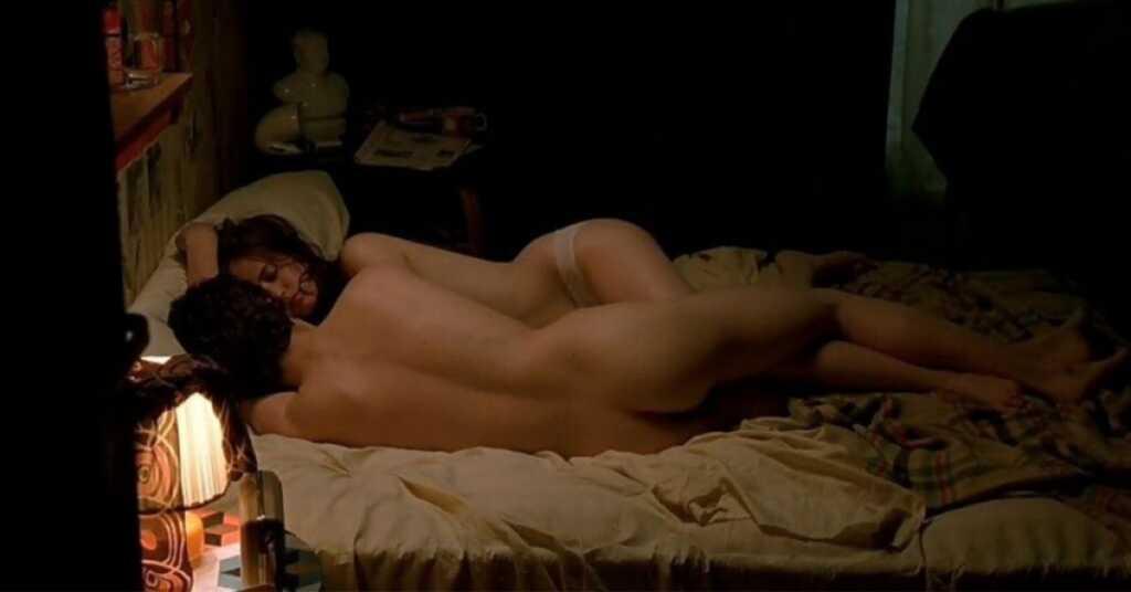 The Dreamers scena a letto