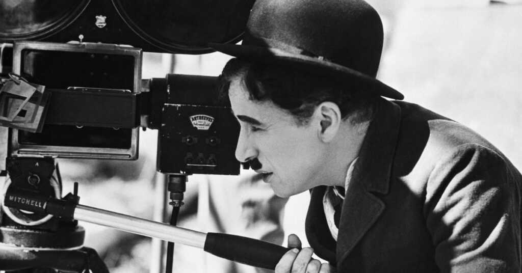 Charlie Chaplin set