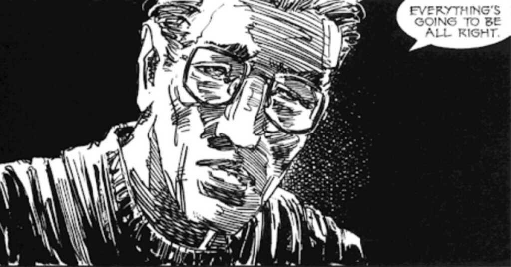 History of violence graphic novel